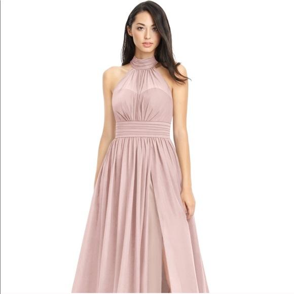 Azazie Dresses | Dusty Rose Dress Baby Pink | Poshmark